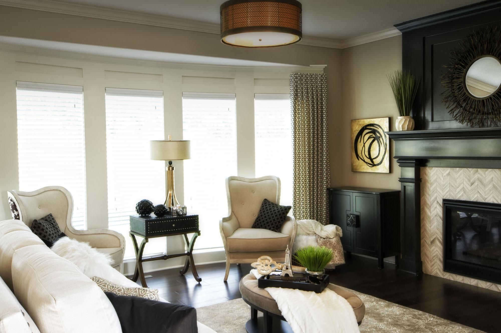 Living Rooms Photo Gallery | Custom Homes in Blue Springs MO | Rob ...